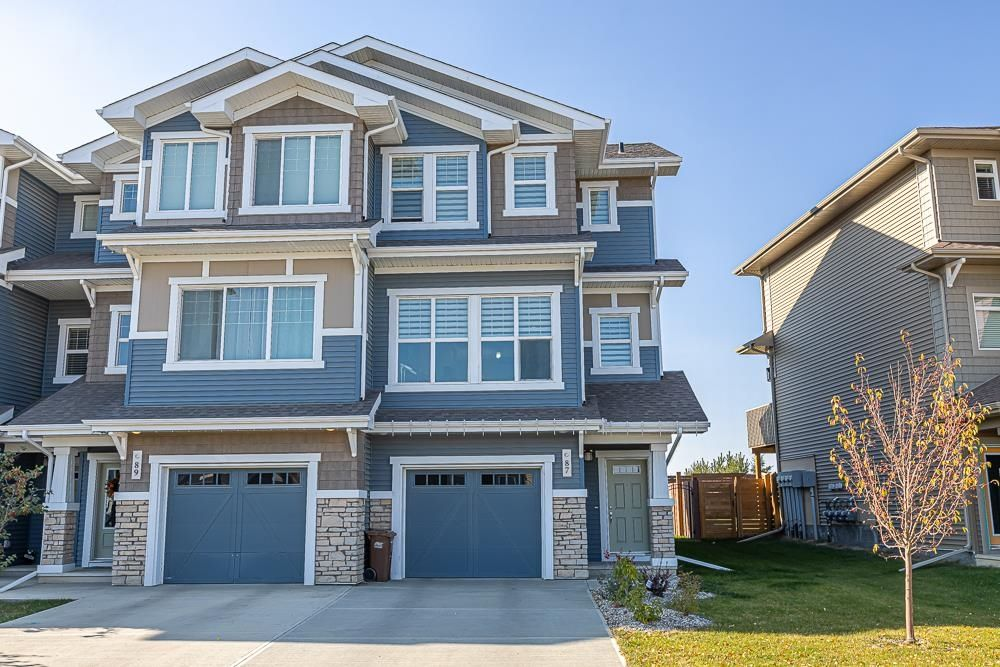 Main Photo: 87 JOYAL Way: St. Albert Attached Home for sale : MLS®# E4265955