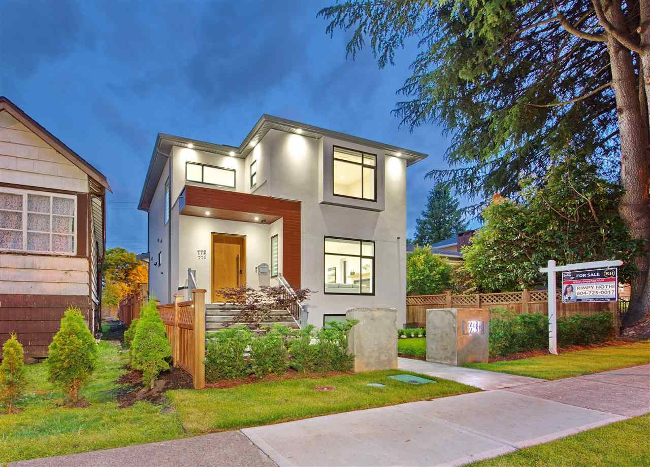 Main Photo: 772 E 33RD Avenue in Vancouver: Fraser VE House for sale (Vancouver East)  : MLS®# R2464737