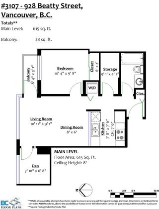 """Photo 22: 3107 928 BEATTY Street in Vancouver: Yaletown Condo for sale in """"THE MAX"""" (Vancouver West)  : MLS®# R2614370"""