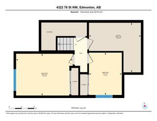 Photo 37: 4322 76 Street in Edmonton: Zone 29 Townhouse for sale : MLS®# E4260493