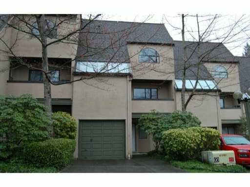 Main Photo: 8561 WOODRIDGE Place in Burnaby: Forest Hills BN Townhouse for sale (Burnaby North)  : MLS®# V813965