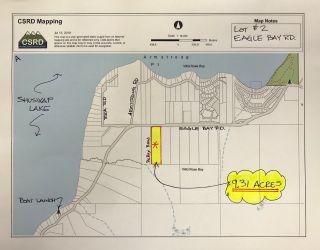 Photo 3: Lot #2 Eagle Bay Road: Eagle Bay Vacant Land for sale (Shuswap Lake)  : MLS®# 10187525