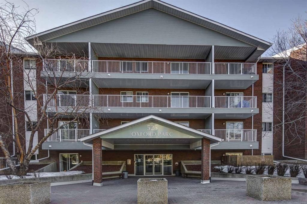 Main Photo: 210 525 56 Avenue SW in Calgary: Windsor Park Apartment for sale : MLS®# A1086866