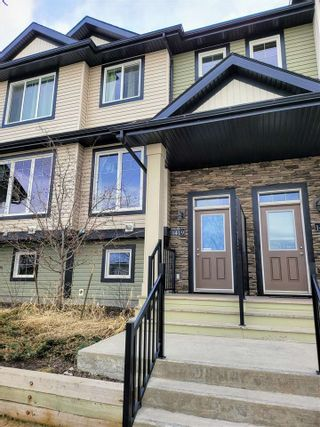 Photo 1: 1419 CUNNINGHAM Drive in Edmonton: Zone 55 Townhouse for sale : MLS®# E4239672