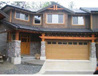 """Photo 1: 53 24185 106B Avenue in Maple_Ridge: Albion 1/2 Duplex for sale in """"TRAILS EDGE"""" (Maple Ridge)  : MLS®# V724664"""