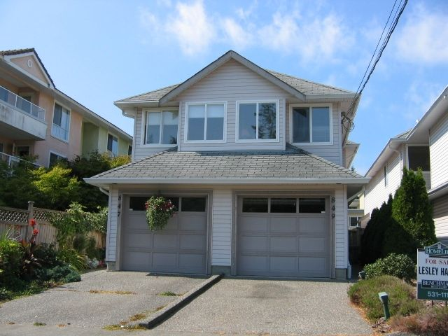 "Main Photo: 849 HABGOOD Street in White_Rock: White Rock 1/2 Duplex for sale in ""East Beach Area"" (South Surrey White Rock)  : MLS®# F2713006"