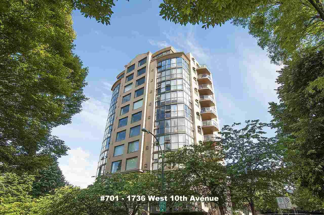 """Main Photo: 701 1736 W 10TH Avenue in Vancouver: Fairview VW Condo for sale in """"MONTE CARLO"""" (Vancouver West)  : MLS®# R2268278"""