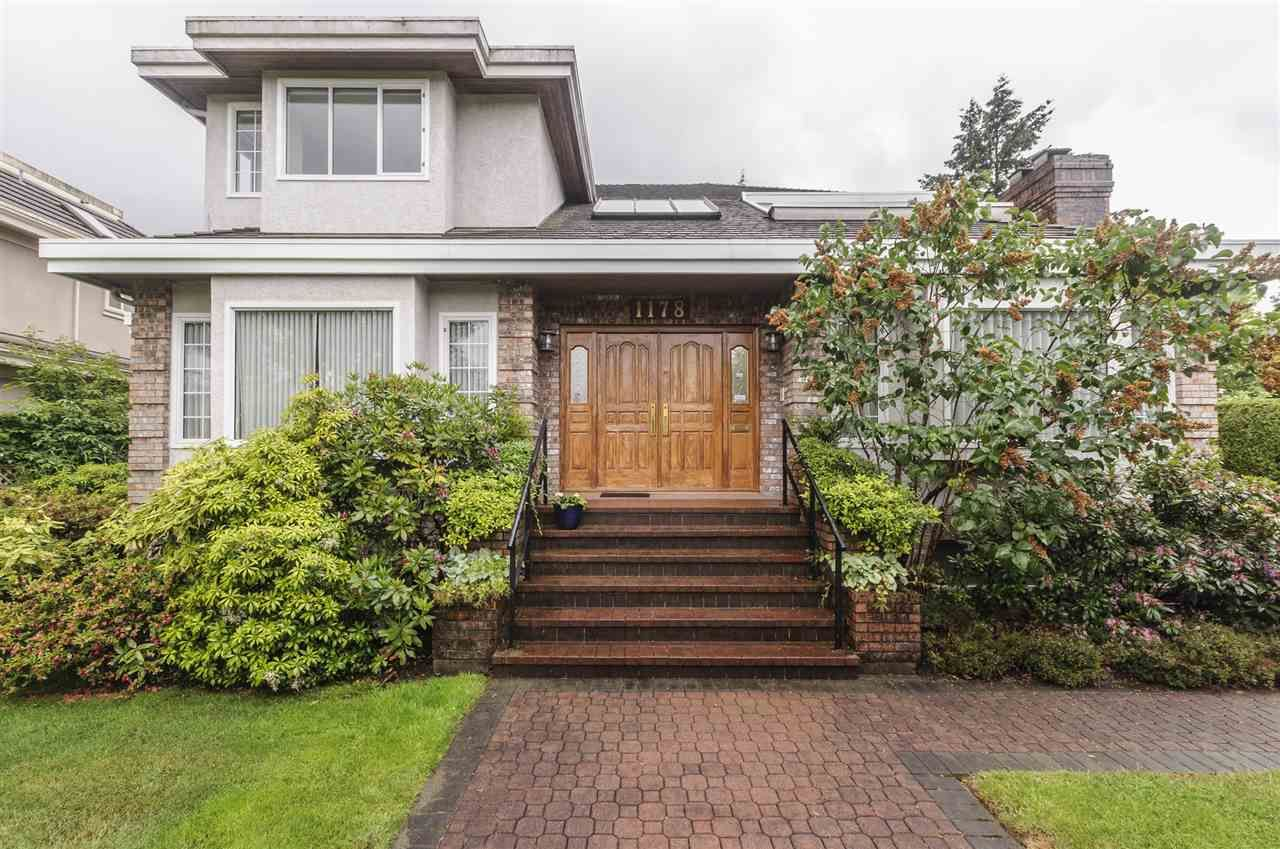 Main Photo: 1178 W 42ND AVENUE in Vancouver: South Granville House for sale (Vancouver West)  : MLS®# R2498400