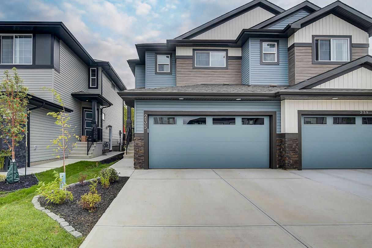 Main Photo: 235 39 Avenue NW in Edmonton: Zone 30 House Half Duplex for sale : MLS®# E4261907