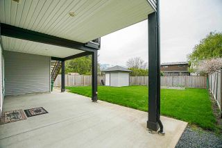 Photo 39: 46505 BROOKS Avenue in Chilliwack: Chilliwack E Young-Yale House for sale : MLS®# R2574145