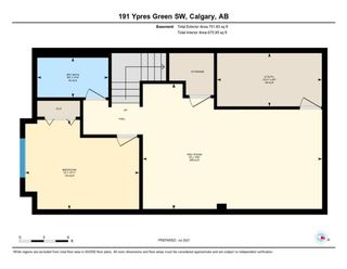 Photo 24: 191 Ypres Green SW in Calgary: Garrison Woods Row/Townhouse for sale : MLS®# A1140623