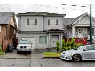 Photo 1: 272 61ST Ave E in Vancouver East: South Vancouver Home for sale ()  : MLS®# V1119950