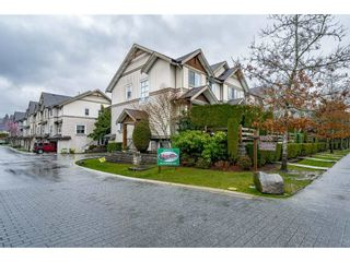 "Photo 1: 130 1055 RIVERWOOD Gate in Port Coquitlam: Riverwood Townhouse for sale in ""MOUNTAIN VIEW ESTATES"" : MLS®# R2554518"