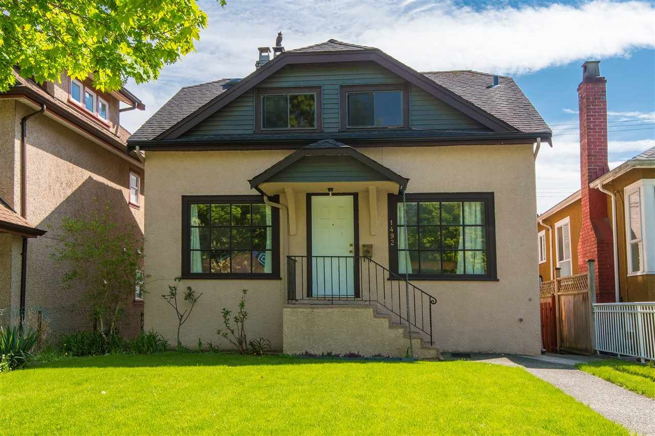 Main Photo: 1492 E 37TH Avenue in Vancouver: Knight House for sale (Vancouver East)  : MLS®# R2271045