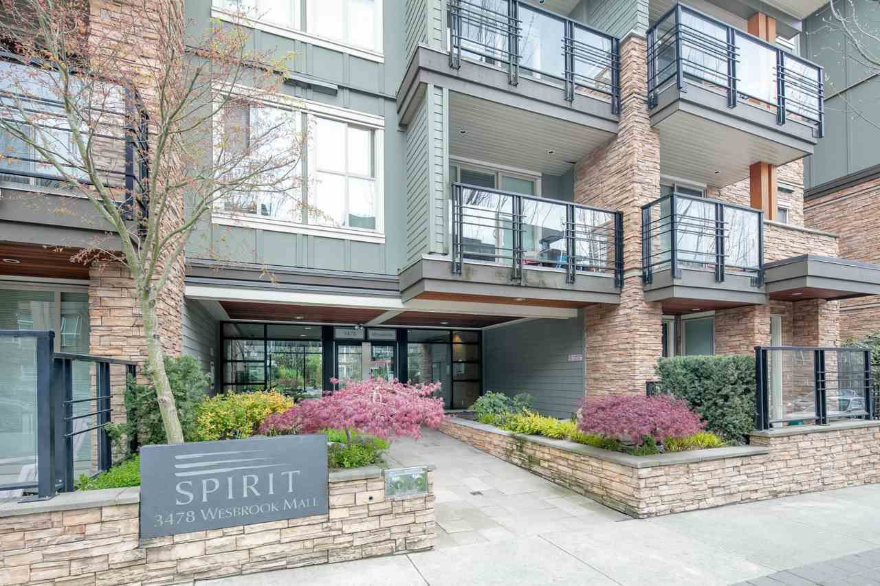 """Main Photo: PH2 3478 WESBROOK Mall in Vancouver: University VW Condo for sale in """"Spirit"""" (Vancouver West)  : MLS®# R2360430"""