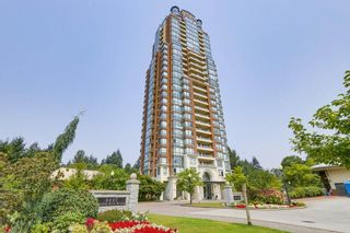 """Photo 1: 502 6837 STATION HILL Drive in Burnaby: South Slope Condo for sale in """"CLARIDGES"""" (Burnaby South)  : MLS®# R2195243"""