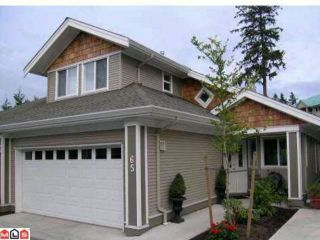 """Photo 1: 65 15133 29A Avenue in Surrey: King George Corridor Townhouse for sale in """"Stonewoods Phase 3"""" (South Surrey White Rock)  : MLS®# F1112133"""