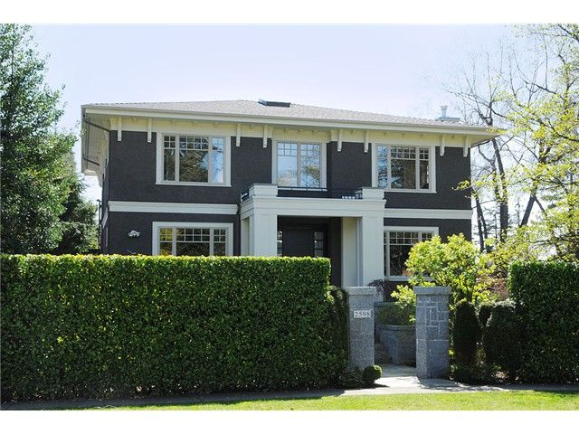 """Main Photo: 2598 W 37TH Avenue in Vancouver: Kerrisdale House for sale in """"KERRISDALE"""" (Vancouver West)  : MLS®# V821565"""