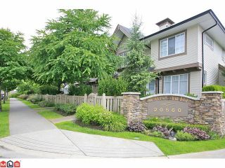 """Photo 1: 36 20560 66TH Avenue in Langley: Willoughby Heights Townhouse for sale in """"Amberleigh II"""" : MLS®# F1118211"""