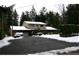 Photo 1: 763 Helvetia Cres in VICTORIA: SE Cordova Bay House for sale (Saanich East)  : MLS®# 419042