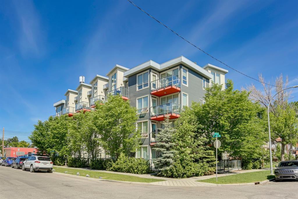 Main Photo: 104 805 4 Street NE in Calgary: Renfrew Apartment for sale : MLS®# A1145427