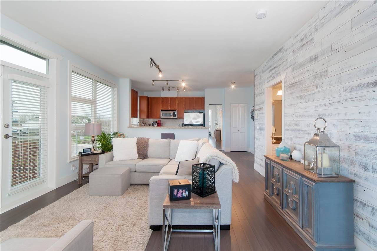 """Main Photo: 306 4600 WESTWATER Drive in Richmond: Steveston South Condo for sale in """"Copper Sky"""" : MLS®# R2330987"""