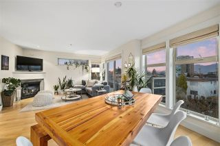 """Photo 5: 401 1586 W 11TH Avenue in Vancouver: Fairview VW Condo for sale in """"Torrey Pines"""" (Vancouver West)  : MLS®# R2561085"""