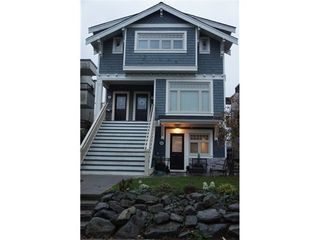 Photo 1: 1832 GREER Ave in Vancouver West: Home for sale : MLS®# V981196