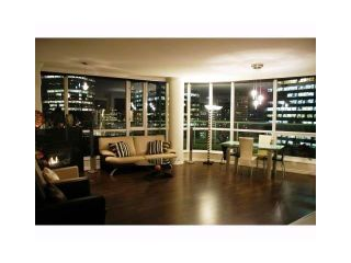 """Photo 2: 3202 1111 W PENDER Street in Vancouver: Coal Harbour Condo for sale in """"VANTAGE"""" (Vancouver West)  : MLS®# V926824"""