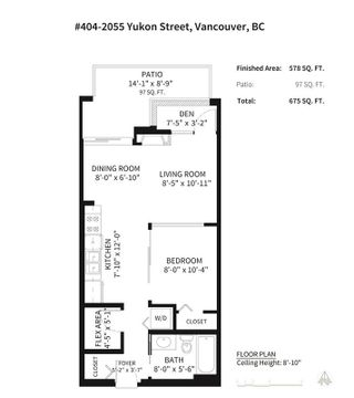 Photo 32: 404 2055 YUKON STREET in Vancouver: False Creek Condo for sale (Vancouver West)  : MLS®# R2537726