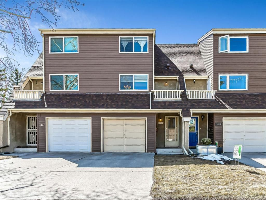 Main Photo: 1413 Ranchlands Road NW in Calgary: Ranchlands Row/Townhouse for sale : MLS®# A1133329