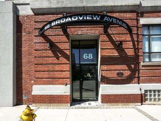 Photo 20: 219 68 Broadview Avenue in Toronto: South Riverdale Condo for sale (Toronto E01)  : MLS®# E3958676