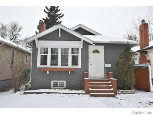Main Photo: 2314 ELPHINSTONE Street in Regina: Cathedral Single Family Dwelling for sale (Regina Area 03)  : MLS®# 558452