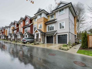"""Photo 1: 19 1219 BURKE MOUNTAIN Street in Coquitlam: Burke Mountain Townhouse for sale in """"REEF"""" : MLS®# R2059650"""