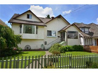 Photo 1: 816 4TH Street in New Westminster: GlenBrooke North House for sale : MLS®# V895794