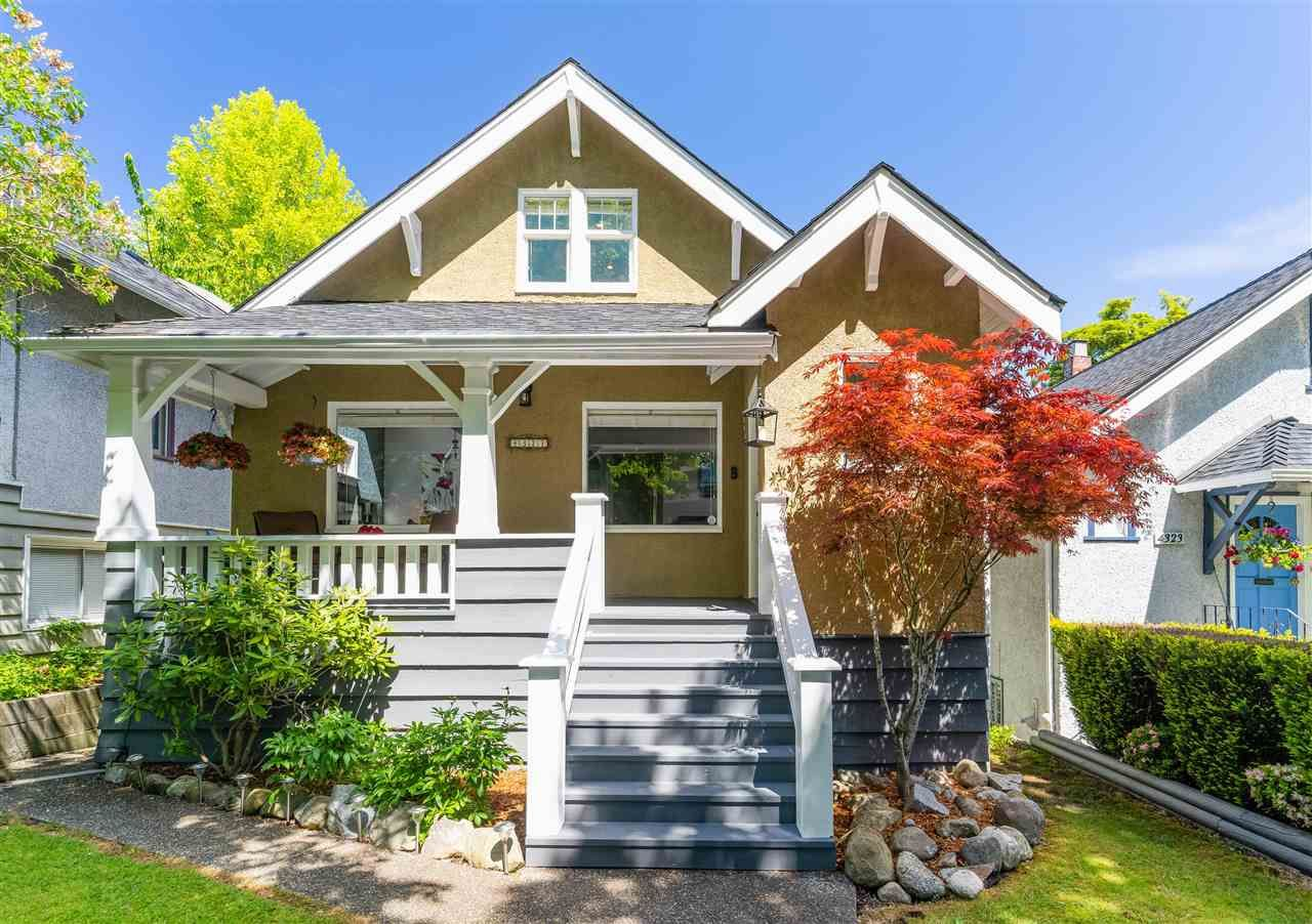 Main Photo: 4327 W 12TH Avenue in Vancouver: Point Grey House for sale (Vancouver West)  : MLS®# R2585135