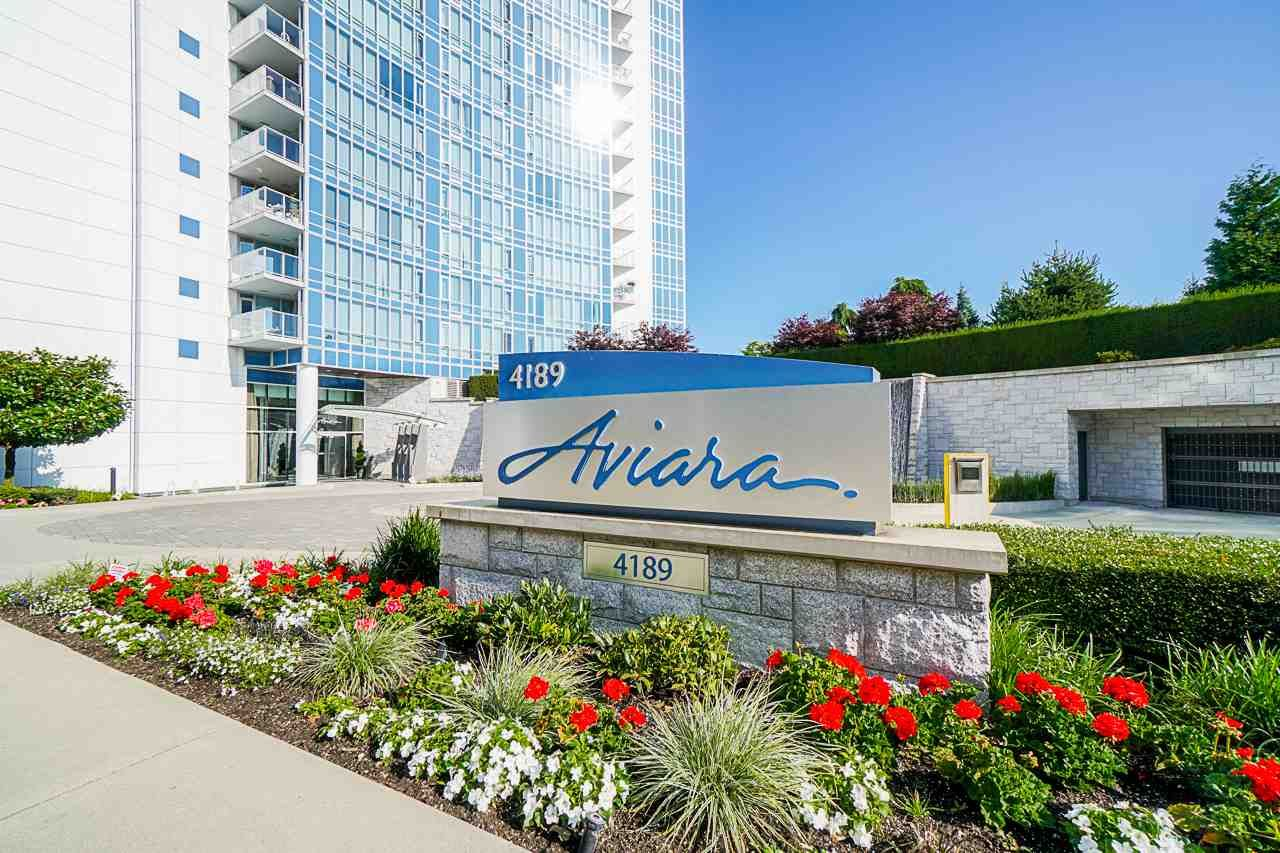 """Main Photo: 701 4189 HALIFAX Street in Burnaby: Brentwood Park Condo for sale in """"AVIARA"""" (Burnaby North)  : MLS®# R2477712"""