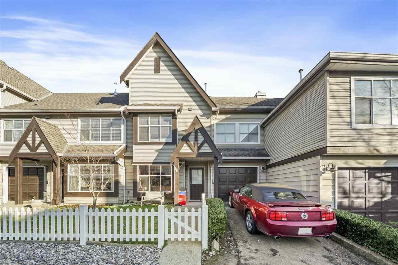 "Main Photo: 118 12099 237 Street in Maple Ridge: East Central Townhouse for sale in ""Gabriola"" : MLS®# R2532727"