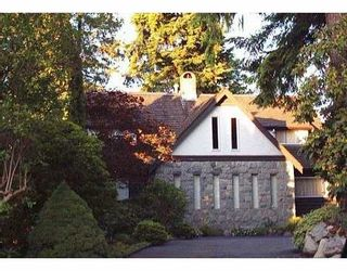 Photo 1: 5785 FOREST Street in Burnaby: Deer Lake Place House for sale (Burnaby South)  : MLS®# V597414