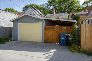 Photo 20: 922 Sherburn Street in Winnipeg: West End Residential for sale (5C)  : MLS®# 1724078