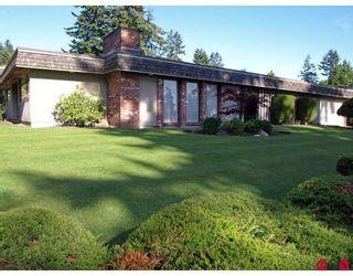 """Photo 1: 6618 SUNSHINE Drive in Delta: Sunshine Hills Woods House for sale in """"SUNSHINE HILLS"""" (N. Delta)  : MLS®# F2911319"""