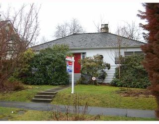 """Photo 1: 578 W 23RD Avenue in Vancouver: Cambie House for sale in """"DOUGLAS PARK"""" (Vancouver West)  : MLS®# V755817"""