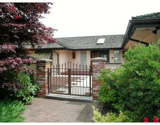 Photo 1: 16779 EDGEWOOD DR in Surrey: Grandview Surrey House for sale (South Surrey White Rock)  : MLS®# F2616362