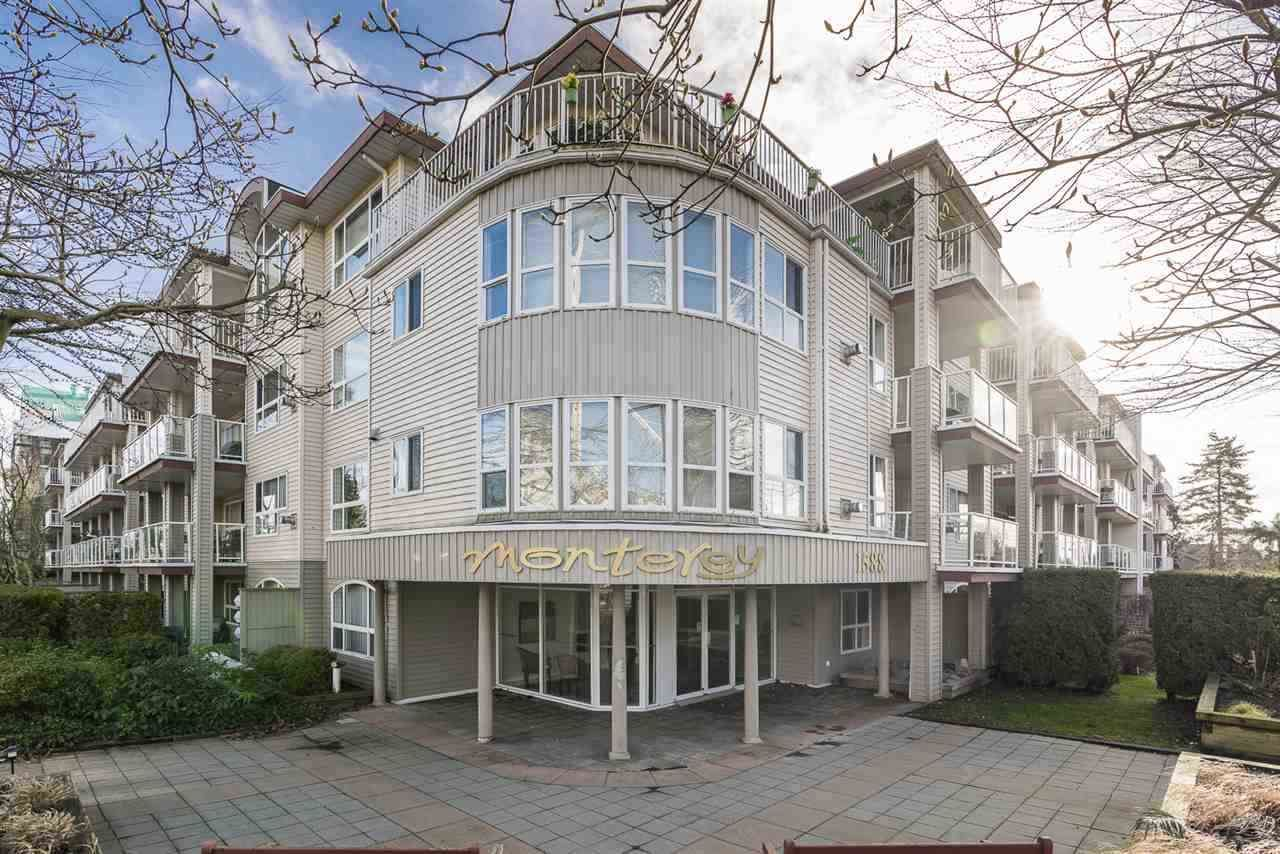 Main Photo: 101 1588 BEST Street: Condo for sale in White Rock: MLS®# R2528525