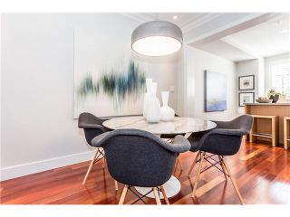 """Photo 3: 910 W 13TH Avenue in Vancouver: Fairview VW Townhouse for sale in """"THE BROWNSTONE"""" (Vancouver West)  : MLS®# V1140268"""