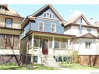 Photo 1: 753 Fleet Avenue in Winnipeg: Single Family Detached for sale : MLS®# 1611573