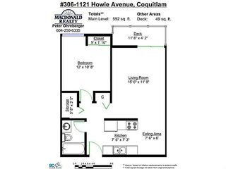 "Photo 11: 306 1121 HOWIE Avenue in Coquitlam: Central Coquitlam Condo for sale in ""The Willows"" : MLS®# V1027721"