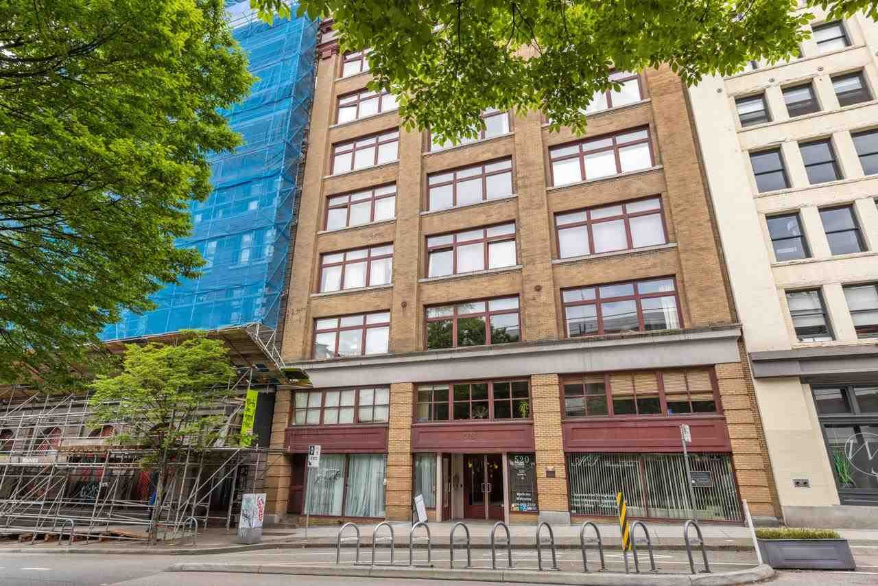 """Main Photo: 304 518 BEATTY Street in Vancouver: Downtown VW Condo for sale in """"Studio 518"""" (Vancouver West)  : MLS®# R2582254"""