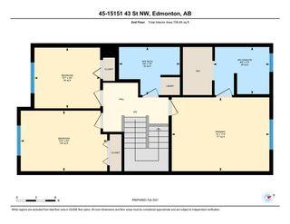 Photo 22: 45 15151 43 Street in Edmonton: Zone 02 House Half Duplex for sale : MLS®# E4228447