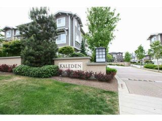 "Photo 1: 53 2729 158 Street in Surrey: Grandview Surrey Townhouse for sale in ""Kaleden"" (South Surrey White Rock)  : MLS®# F1441749"